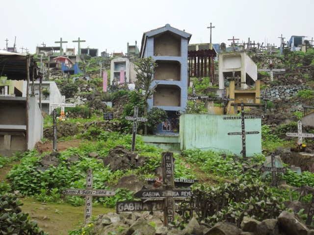 Friedhof Villa Maria del Triunfo, Lima, Peru