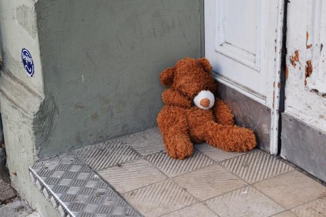 Einsamer Teddy Neukölln Berlin