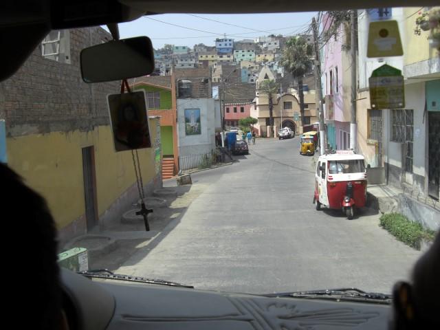 San Cristobal Fahrt Lima Peru