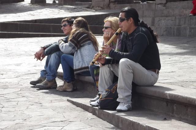 Bricheros und Gringas in Cusco, Peru