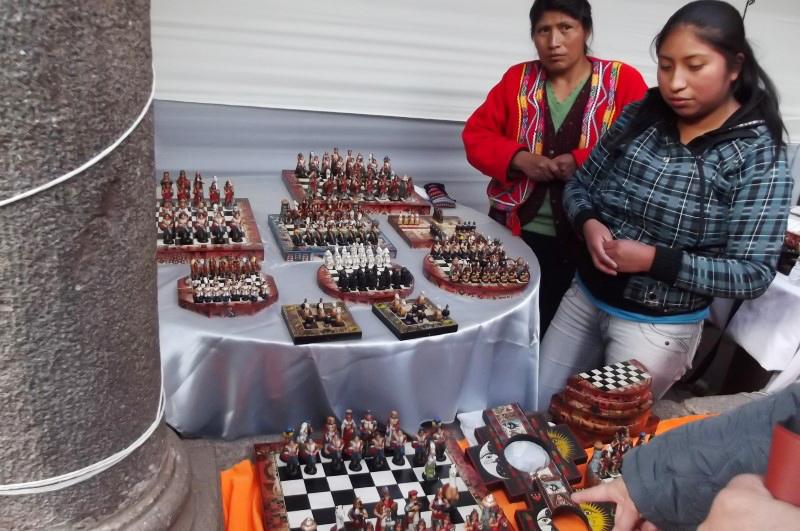 Märkte in Lima Kunsthandwerksmarkt