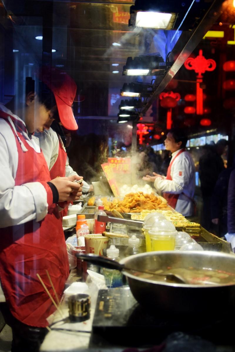 Nachtmarkt Peking