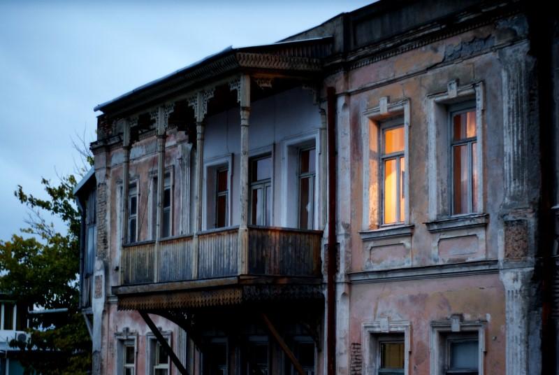 Tbilisi bei Nacht