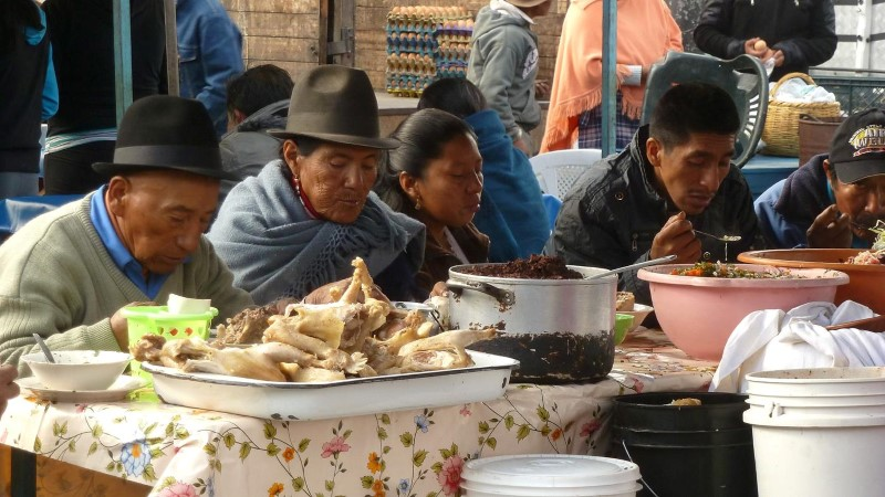 Markt Pujili