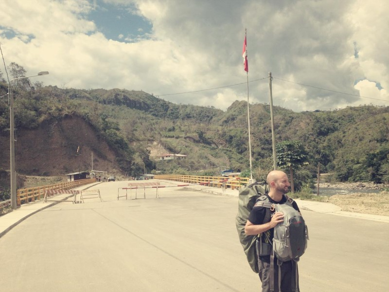 Grenze Peru Ecuador