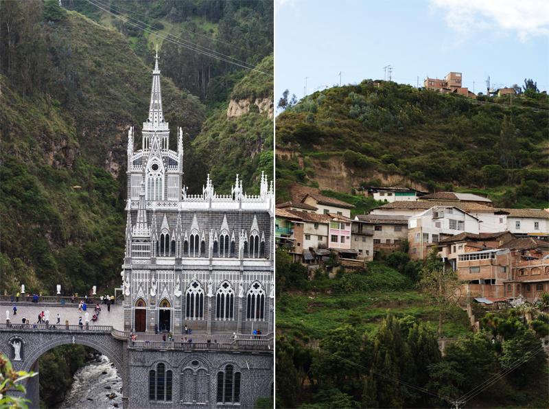 Las Lajas Kolumbien