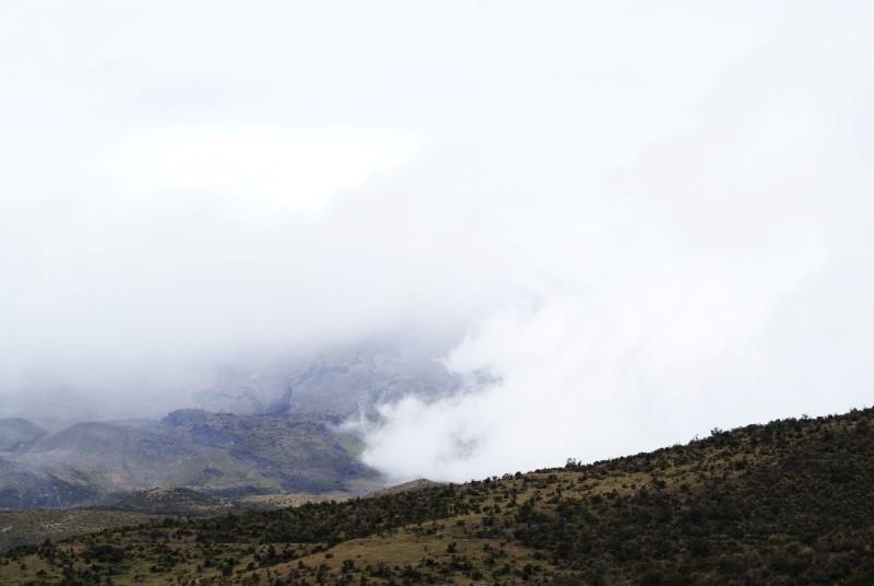 Cotopaxi Nebel
