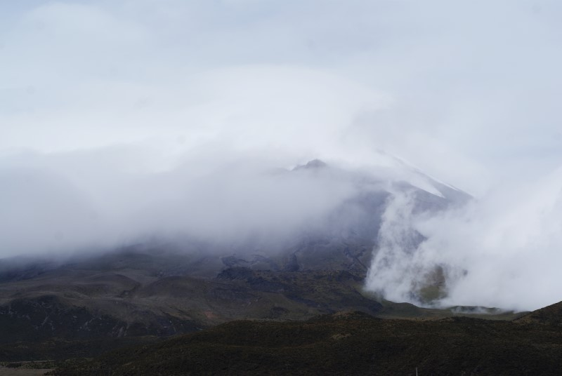 Cotopaxi Wolken